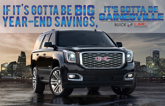 It's Gotta Be Gainesville Buick GMC!