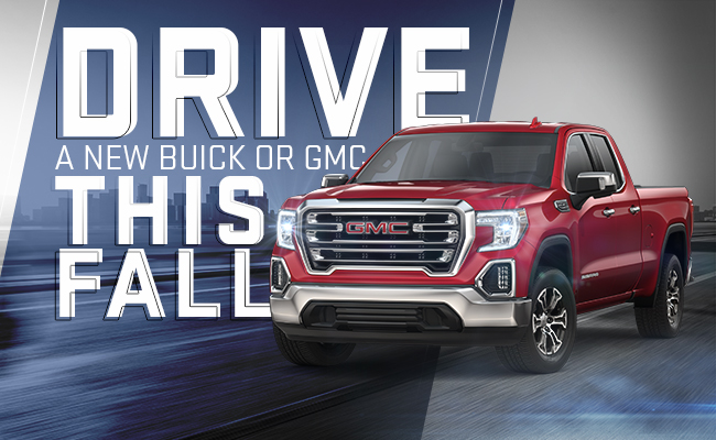 Drive A New Buick Or GMC This Fall