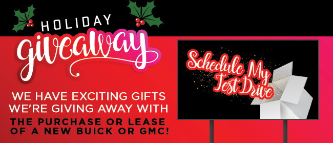Holiday Giveaways All Black Friday Weekend