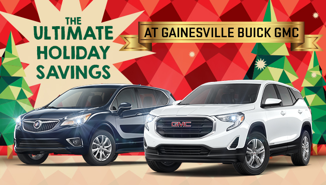 Ultimate Holiday Savings At Gainewville Buick GMC