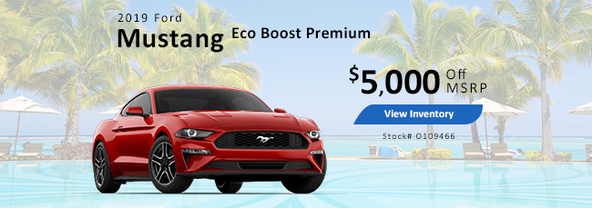 2018 Ford Mustang Eco Boost Premium