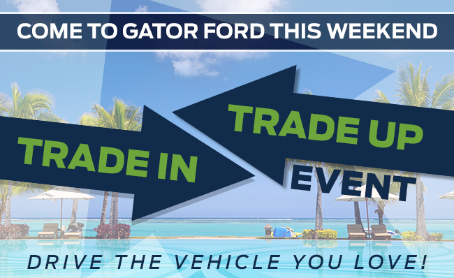 Come To Gator Ford This Weekend