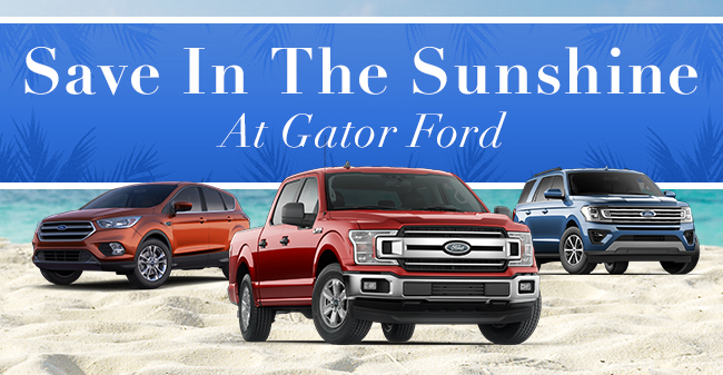 Save In The Sunshine At Gator Ford