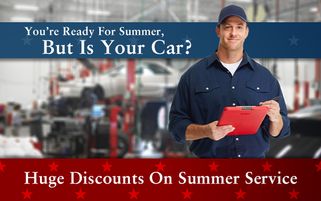 Huge Discounts On Summer Service