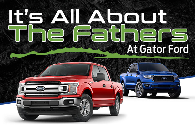 It's All About The Fathers At Gator Ford