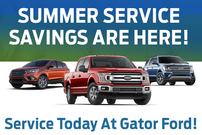 Summer Service Savings Are Here!