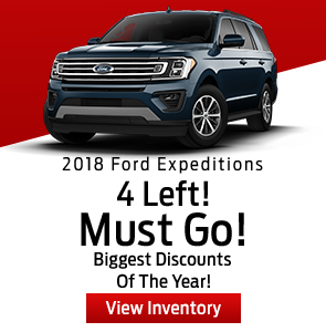 2018 Ford Expeditions
