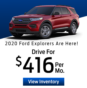 2020 Ford Explorers Are Here!