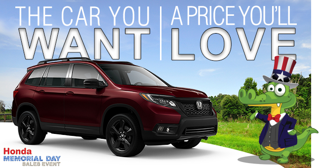 The Car You Want, The Price You'll Love