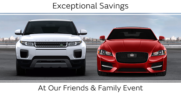 Exceptional Savings At Our Friends & Family Event