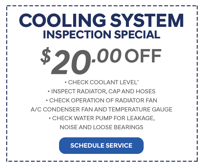 Cooling System Inspection Special