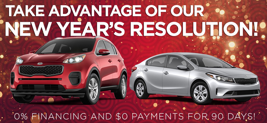 Take Advantage Of Our New Year's Resolution!