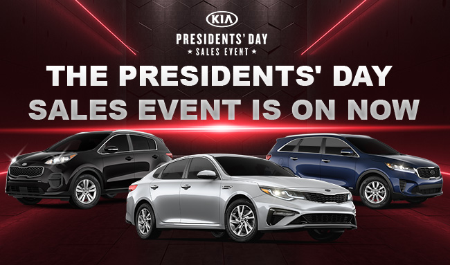The Presidents' Day sales event is on now