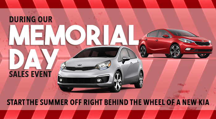 During Our Memorial Day Sales Event