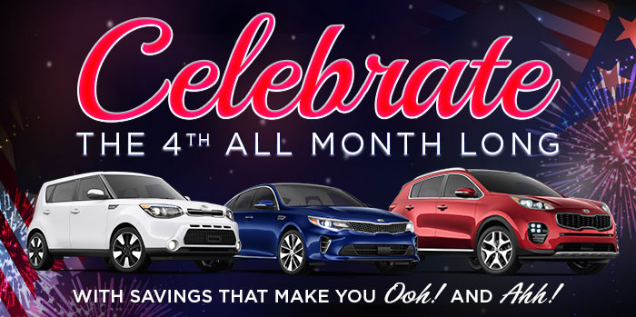 Celebrate the 4th All Month Long!