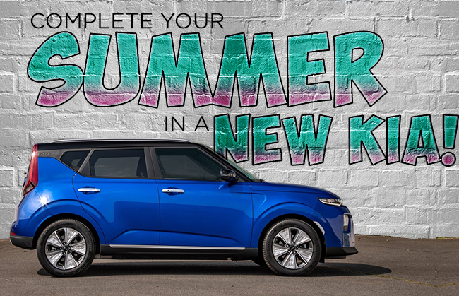 Complete Your Summer In A New Kia!