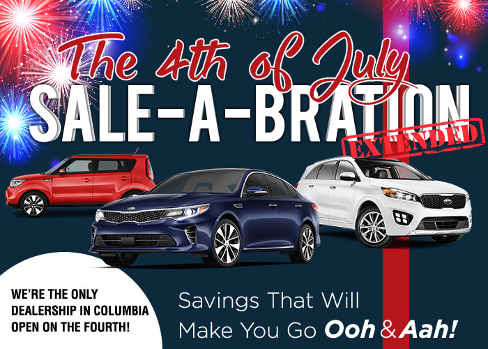 The 4th of July Sale-A-Bration Extended