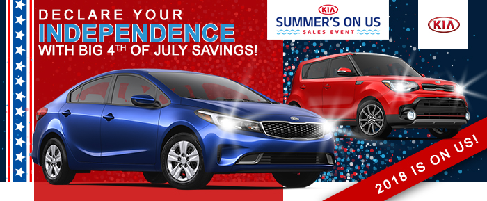 This Summer Is On Us Hurry in to Kia of Columbia today!