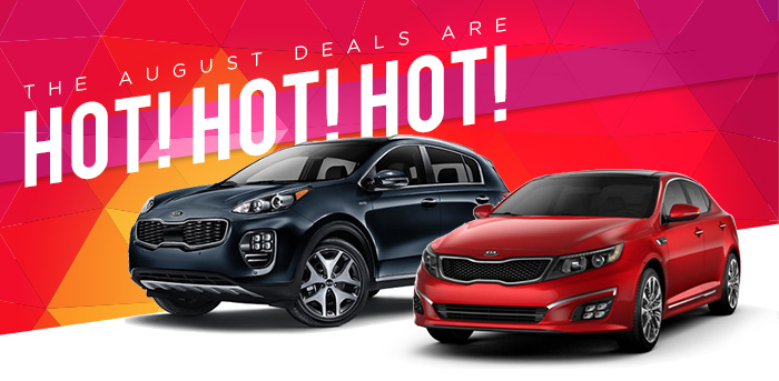 The August Deals Are Hot!