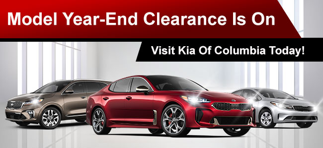 Model Year-End Clearance Is On