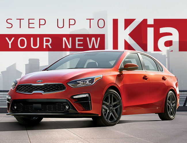 Step Up To Your New Kia