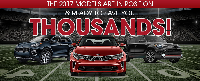 The 2017 Models Are In Position! & Ready To Save You Thousands!