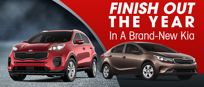 Finish Out The Year In A Brand-New Kia