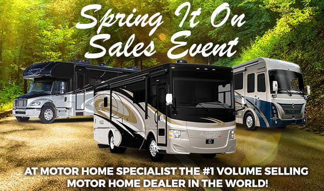 Take Home A New RV Today