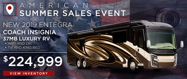 New 2019 Entegra Coach Insignia