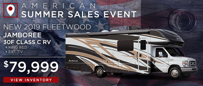 New 2019 Fleetwood Jamboree
