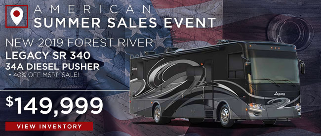 New 2019 Forest River Legacy SR 340