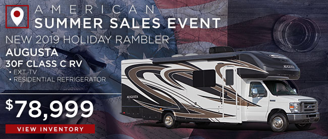 New 2019 Holiday Rambler Augusta
