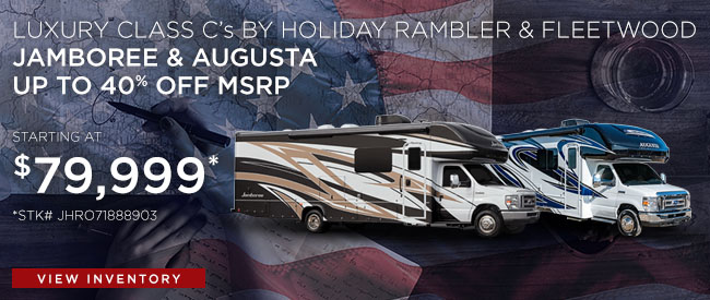 Luxury Class C's by Holiday Rambler & Fleetwood