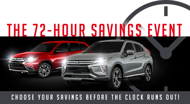 The 72-Hour Savings Event