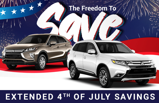The Freedom To Save Is At Ourisman Mitsubishi