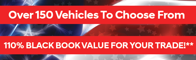 Over 150 VehiclesTo Choose From