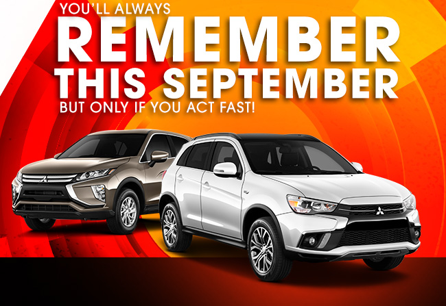 September to Remember Sales Event