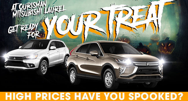 Get Ready For Your Treat At Ourisman Mitsubishi Laurel