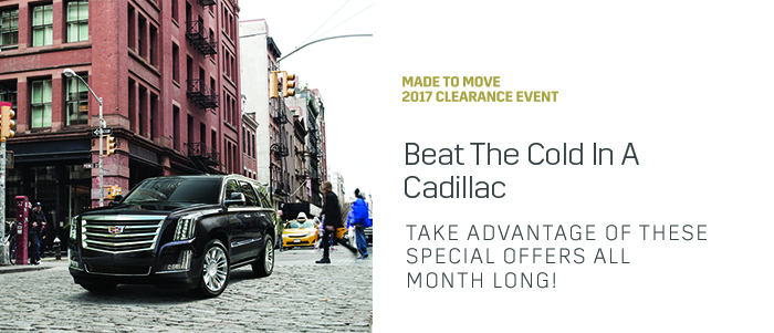 Beat The Cold In A Cadillac