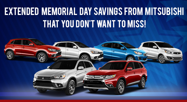 Extended Memorial Day Savings From Mitsubishi