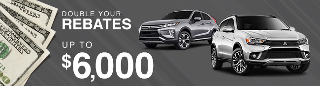 Double Your Rebates up to $6,000