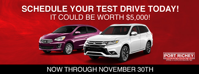 Schedule Your Test Drive Today! It Could Be Worth $5,000!