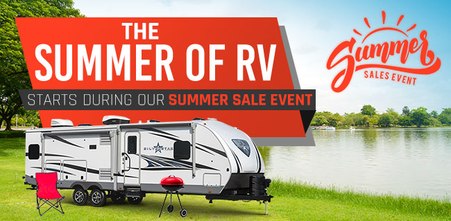 The Summer Of RV Starts During The Summer Sale Event!
