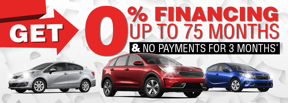 Get 0% Financing to 75 Months and No Payments For 3 Months