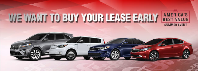 We Want To Buy Your Lease Early