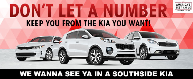 Don't Let A Number Keep You From The Kia You Want!
