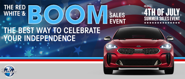 Red, White & Boom Sales Event