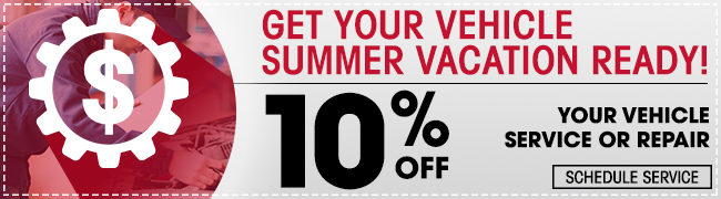 Get Your Vehicle Summer Vacation Ready!