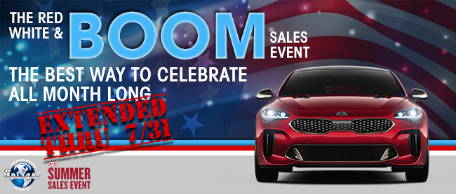 Red, White & Boom Sales Event Extended
