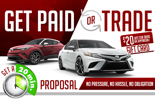 Get Paid or Trade!
